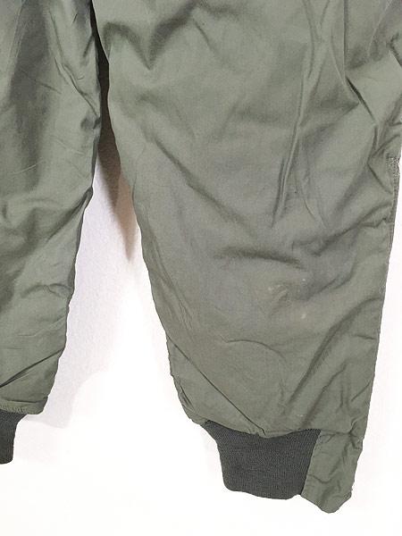 [6] 古着 80s 米軍 USAF F-1B 防寒 ヘビーゾーン フライング オーバー パンツ 30 美品!! 古着