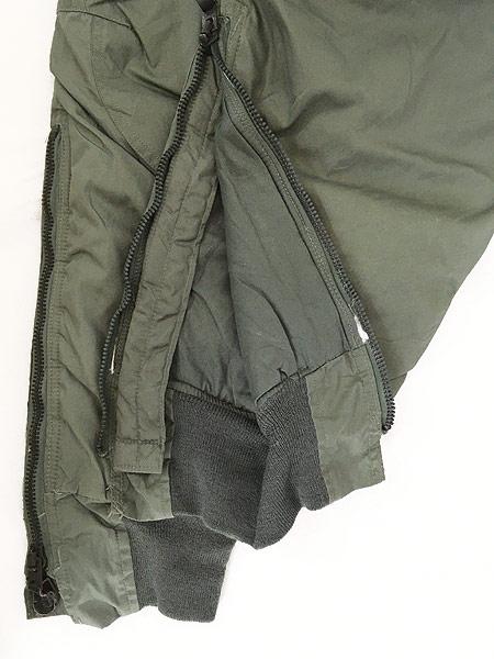 [7] 古着 80s 米軍 USAF F-1B 防寒 ヘビーゾーン フライング オーバー パンツ 30 美品!! 古着