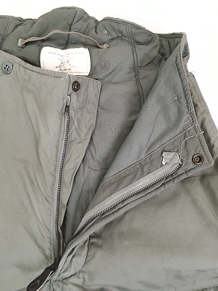 [8] 古着 80s 米軍 USAF F-1B 防寒 ヘビーゾーン フライング オーバー パンツ 30 美品!! 古着