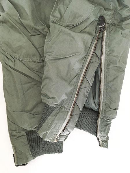 [6] 古着 60s 米軍 USAF F-1B 防寒 ヘビーゾーン フライング オーバー パンツ 32 古着