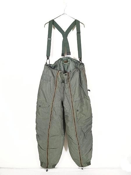 [1] 古着 50s 米軍 USAF A-11D 「6262A」 防寒 ナイロン フライング オーバー パンツ 40 古着