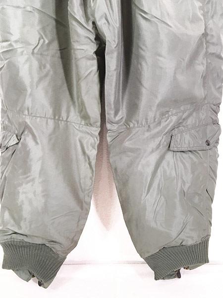 [7] 古着 50s 米軍 USAF A-11D 「6262A」 防寒 ナイロン フライング オーバー パンツ 40 古着