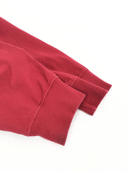 [4] 古着 Carhartt BIG ロゴ プリント 100%コットン ロングスリーブ Tシャツ ロンT M 古着