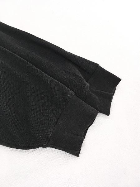 [4] 古着 90s Ralph Lauren SPORT ポロスポ 星条旗 モノトーン ロングスリーブ ポロシャツ ロンポロ XL 古着