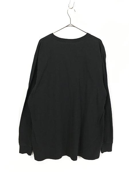 [3] 古着 POLO JEANS Ralph Lauren BIG ロゴ ロングスリーブ Tシャツ ロンT XL位 古着