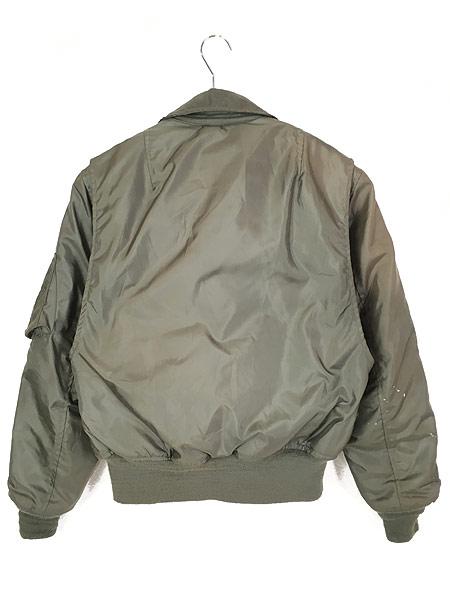 [5] 古着 70s 米軍 「最初期 CWU 45/P」 Jacket Flyers Cold Weather ノーメックス フライト ジャケット S 古着