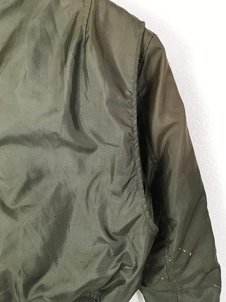 [6] 古着 70s 米軍 「最初期 CWU 45/P」 Jacket Flyers Cold Weather ノーメックス フライト ジャケット S 古着