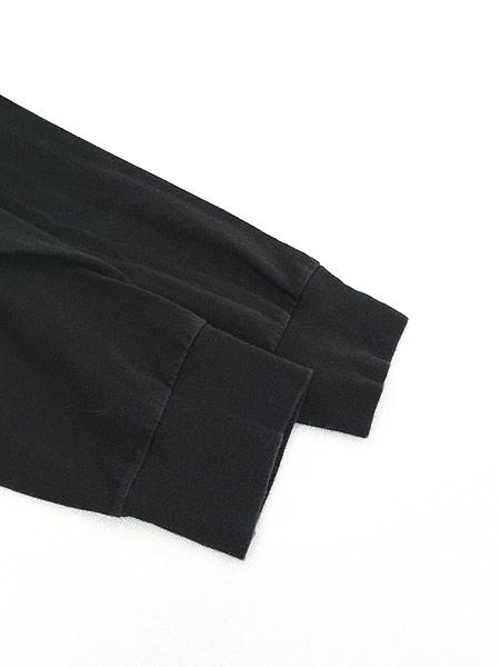 [4] 古着 TNF The North Face ノース ワンポイント 両面 BIG  ロングスリーブ Tシャツ ロンT XL 古着