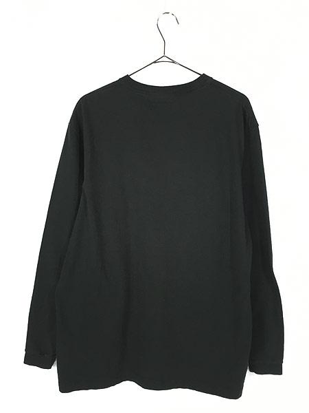 [3] 古着 USA製 Nautica 「COMPETITION」 アーム プリント 長袖 Tシャツ ロンT M 古着