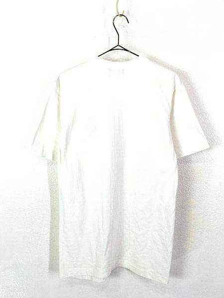 [3] 古着 90s 「JASPER」 クマ アニマル ワンポイント Tシャツ S 古着