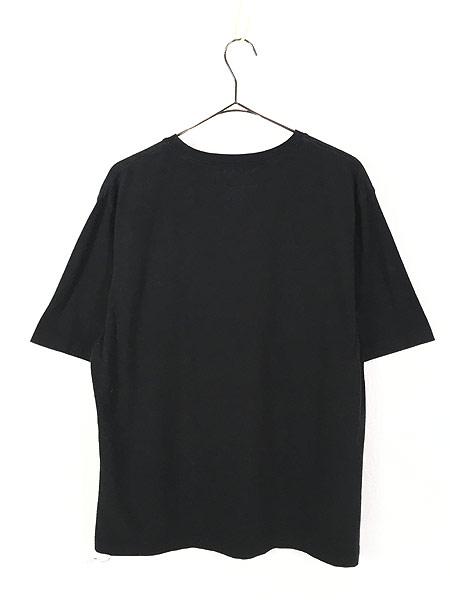 [3] 古着 POLO SPORT Ralph Lauren ポロスポ シンプル ロゴ ストレッチ Tシャツ 黒 XL 古着