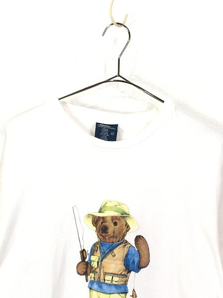 [2] 古着 90s POLO Ralph Lauren 人気 「POLO BEAR ポロベア」 Tシャツ S 古着