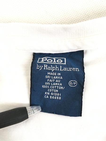 [7] 古着 90s POLO Ralph Lauren 人気 「POLO BEAR ポロベア」 Tシャツ S 古着