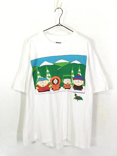 [1] 古着 90s SOUTH PARK サウスパーク アニメ キャラクター Tシャツ XL 古着