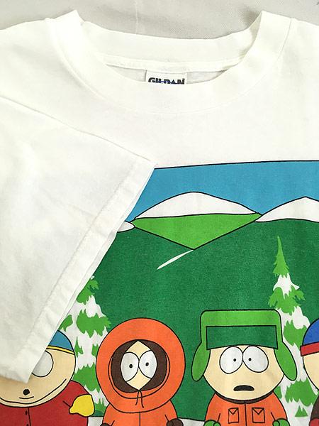 [4] 古着 90s SOUTH PARK サウスパーク アニメ キャラクター Tシャツ XL 古着