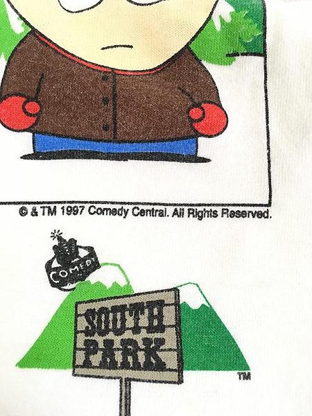 [7] 古着 90s SOUTH PARK サウスパーク アニメ キャラクター Tシャツ XL 古着