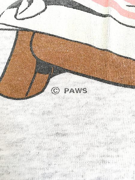 [7] 古着 90s Garfield ガーフィールド ジャンプ BIGTシャツ XXL位 古着