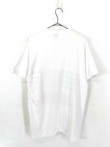 [3] 古着 90s USA製 Disney Mickey ミッキー ホログラム パッチ Tシャツ XL 古着