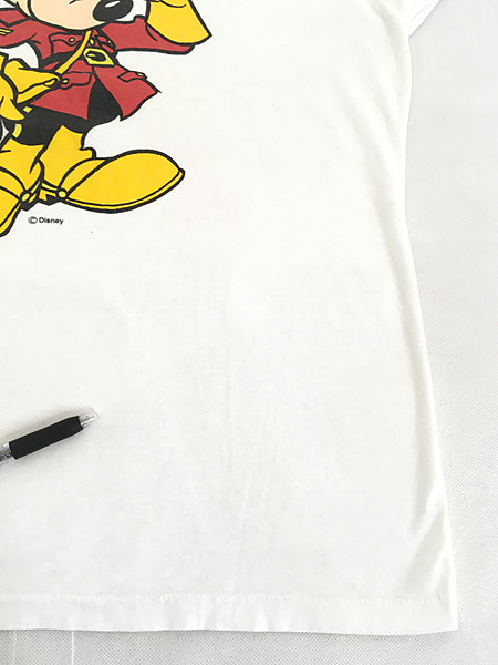 [6] 古着 90s Disney Mickey ミッキー CANADA コスチューム Tシャツ L 古着