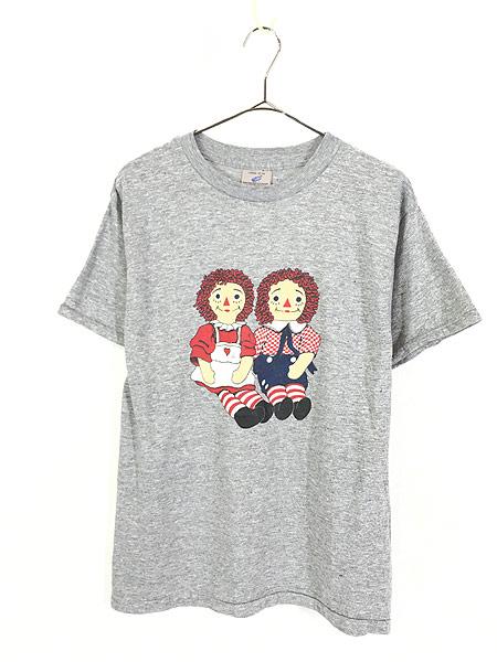 [1] 古着 80s USA製 ラガディアン & アンディ プリント オールド Tシャツ L 古着