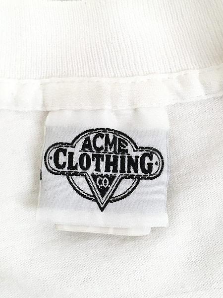 [6] 古着 90s USA製 LOONEY TUNES サム コヨーテ ハーレー Tシャツ L 古着