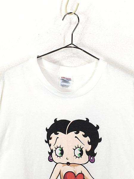 [2] 古着 90s BETTY BOOP ベティ ブープ オールド キャラクター Tシャツ XL 古着