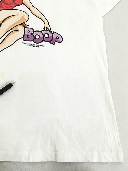 [5] 古着 90s BETTY BOOP ベティ ブープ オールド キャラクター Tシャツ XL 古着