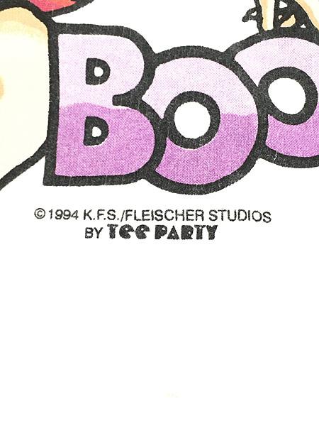 [7] 古着 90s BETTY BOOP ベティ ブープ オールド キャラクター Tシャツ XL 古着
