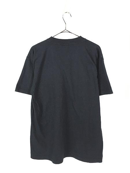 [3] 古着 90s 「BORN TO RIDE」 ポパイ アメリカン モーターサイクル Tシャツ L 古着