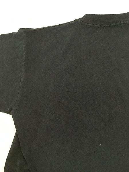 [5] 古着 90s 「BORN TO RIDE」 ポパイ アメリカン モーターサイクル Tシャツ L 古着