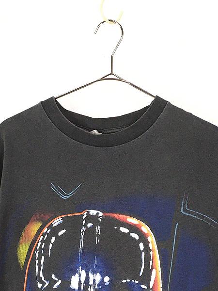 [2] 古着 90s STAR WARS 「THE DARK SIDE」 ダースベイダー Tシャツ XL 古着