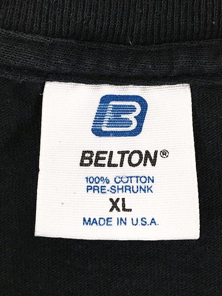 [6] 古着 90s USA製 LOONEY TUNES 大集合 フェイス Tシャツ XL 古着