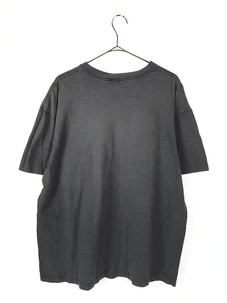 [3] 古着 90s USA製 Disney Pooh クマのプーさん ポケット Tシャツ ポケT XL位 古着
