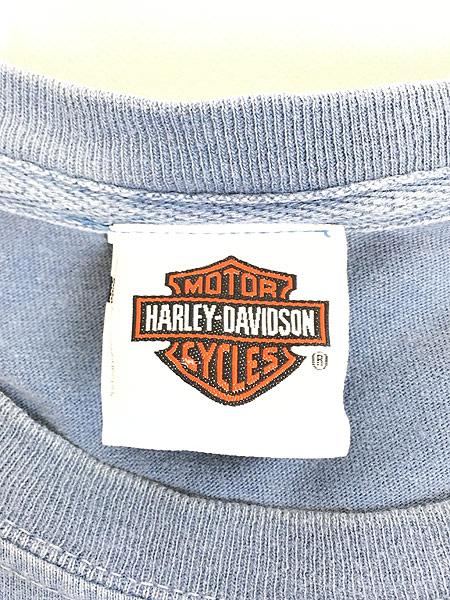 [7] 古着 00s LOONEY TUNES × HARLEY DAVIDSON キャラクター Tシャツ XL 古着