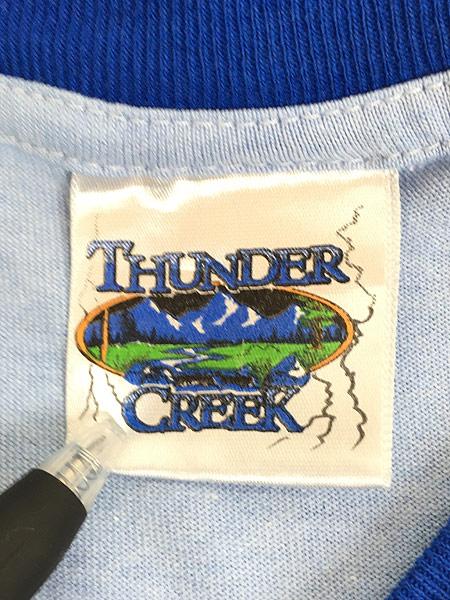 [7] 古着 00s TOM&JERRY トムとジェリー リンガー Tシャツ XL位 古着
