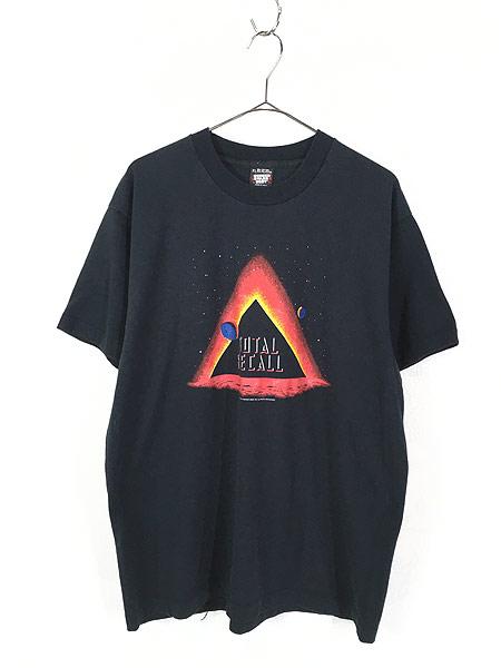 [1] 古着 90s USA製 映画 TOTAL RECALL トータルリコール オールド ムービー Tシャツ XL 古着