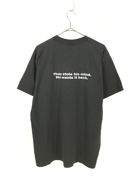 [3] 古着 90s USA製 映画 TOTAL RECALL トータルリコール オールド ムービー Tシャツ XL 古着