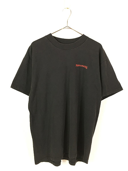 [1] 古着 90s USA製 Phantasmagoria 「INDUSTRIAL NIGHTMARE」 ホラー ゲーム Tシャツ XL 古着