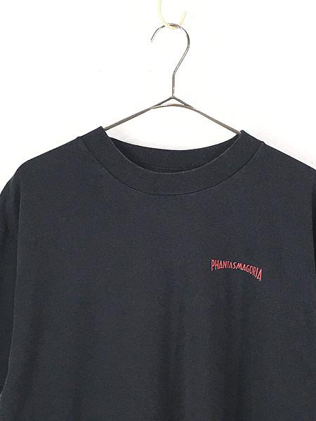 [2] 古着 90s USA製 Phantasmagoria 「INDUSTRIAL NIGHTMARE」 ホラー ゲーム Tシャツ XL 古着