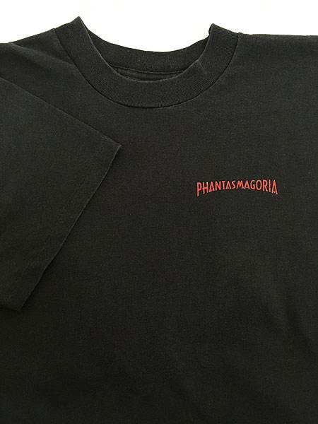 [4] 古着 90s USA製 Phantasmagoria 「INDUSTRIAL NIGHTMARE」 ホラー ゲーム Tシャツ XL 古着