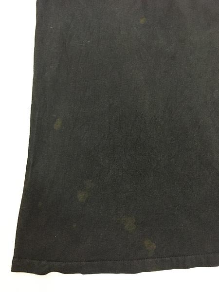 [5] 古着 90s USA製 「BAREBONES」 蛍光 ネオン ボーンズ Tシャツ XL 古着