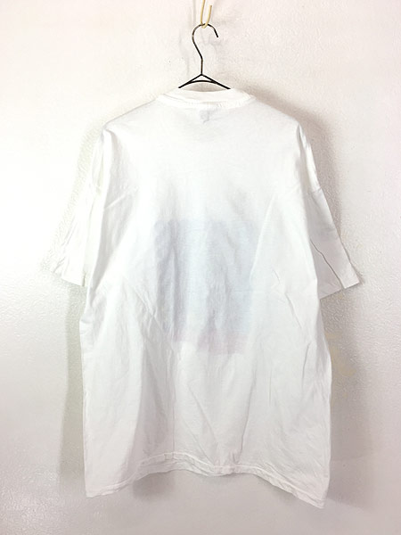 [3] 古着 90s USA製 Team Berkeley 自由の女神 ポップ アート Tシャツ XL 古着