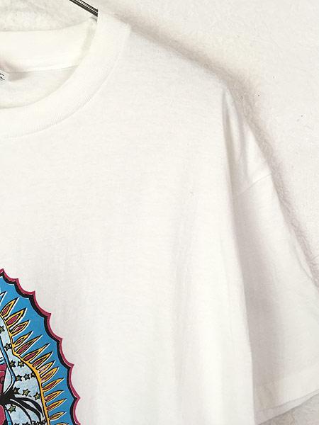 [5] 古着 90s USA製 「Our Lady of Guadalupe」 グアダルーペの聖母 ポップ アート Tシャツ XL 古着