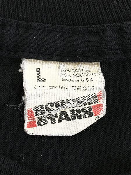[5] 古着 80s USA製 「LIBERTY」 自由の女神 花火 オールド Tシャツ L 古着