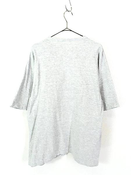 [3] 古着 80s USA製 medallion 「WEST VIRGINIA」 2段 霜降り Tシャツ L 古着