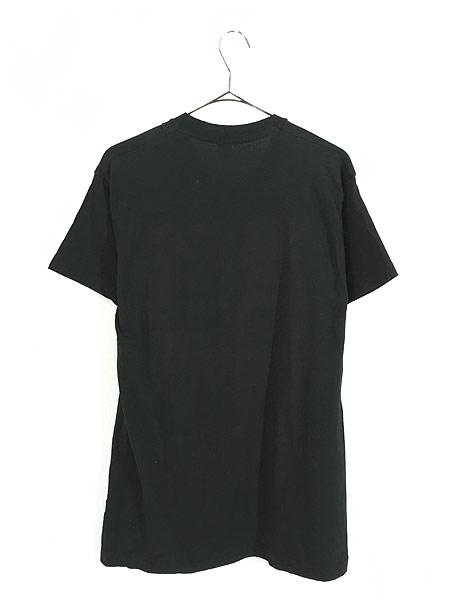 [3] 古着 80s USA製 BONE ボーン 骨 だまし絵 アート 蓄光 Tシャツ XL 古着