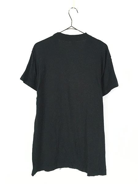 [3] 古着 80s USA製 BONE ボーン 骨 だまし絵 アート 蓄光 Tシャツ XL 美品!! 古着