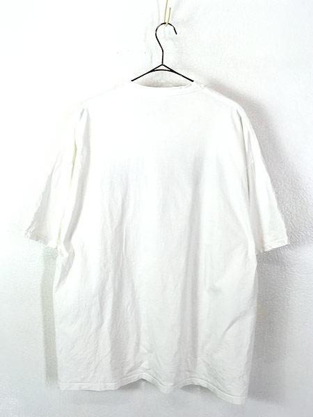 [3] 古着 90s USA製 JERZEES 「JERZEES」 BIG ボックスロゴ Tシャツ XL 古着