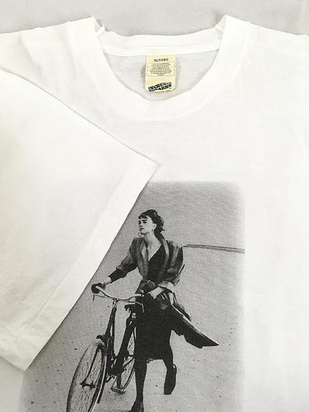 [4] 古着 90s MARIELLA BURANI PARFUMS 女性 フォト ピクチャー Tシャツ XL 古着