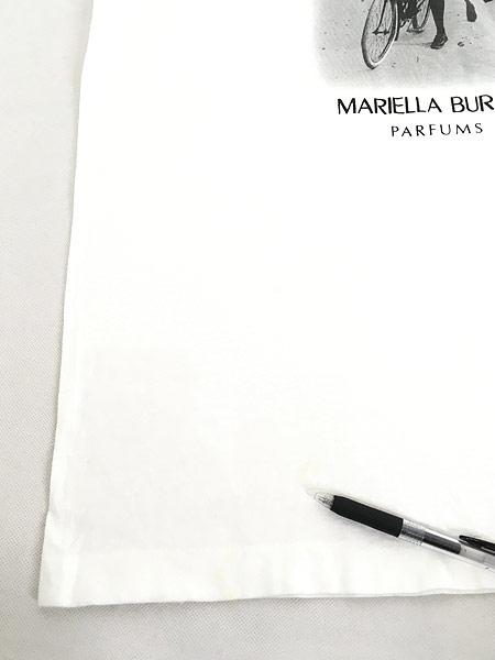 [5] 古着 90s MARIELLA BURANI PARFUMS 女性 フォト ピクチャー Tシャツ XL 古着